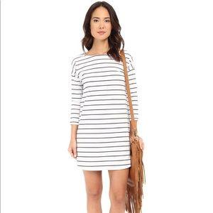Dinah Striped Ponte Shift Dress by BB Dakota